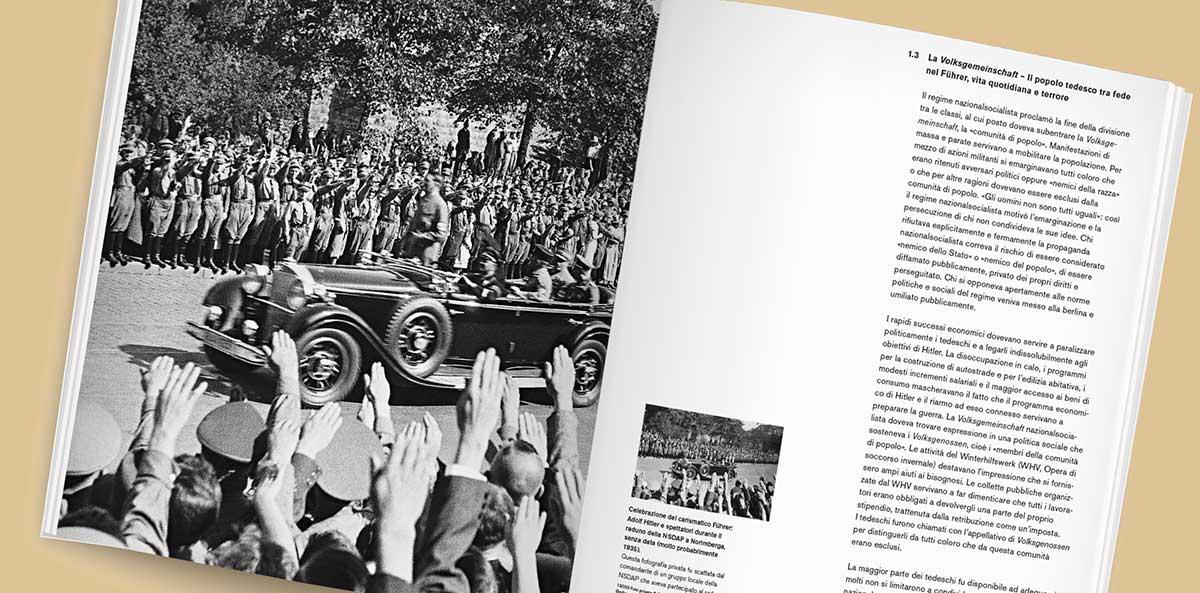 Topographie des Terrors in unterschiedlichen Sprachen; Überarbeitung des Katalogs Zech Dombrowsky Design