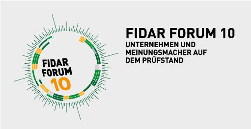 FidAR Forum 10, Logogestaltung Zech Dombrowsky Design