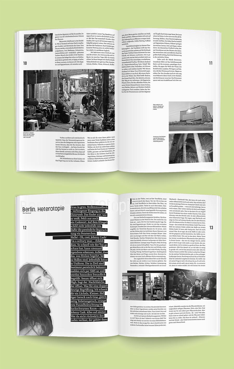 Inkubator – Hausmagazin Zech Dombrowsky Design; Autorin: Uta Zech; Gestaltung Walter Dombrowsky