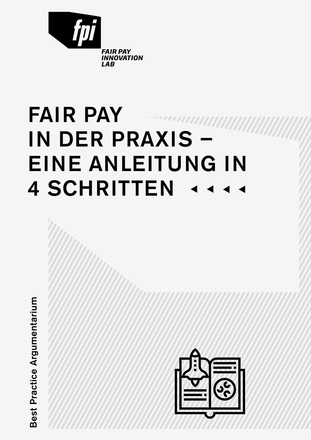 Broschüre Best Practice Argumentarium, gestaltet von Zech Dombrowsky Design