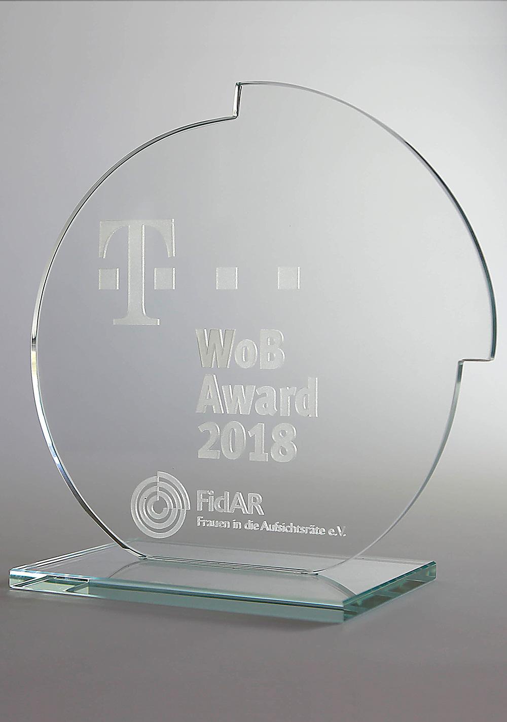 FidAR WoB-Award 2018, gestaltet von Zech Dombrowsky Design